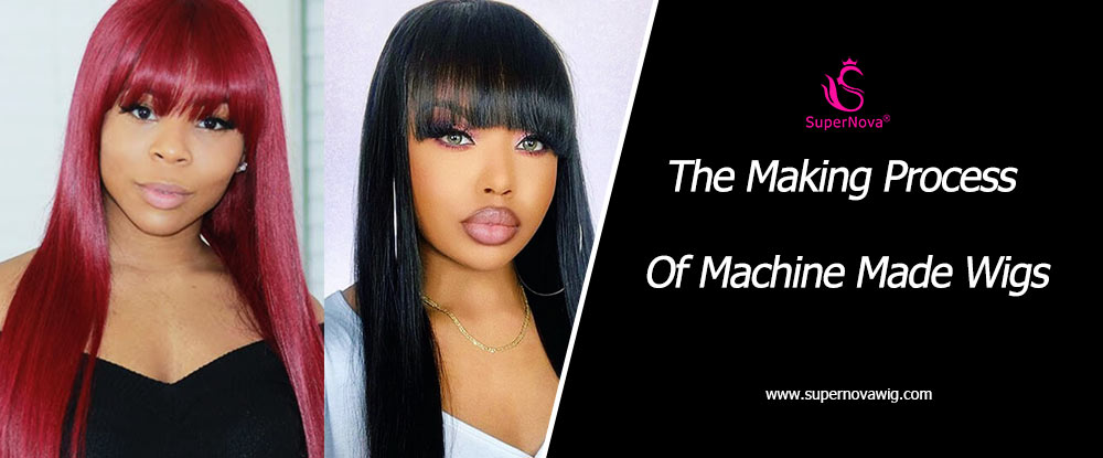 The Making Process Of Human Hair Machine Made Wigs